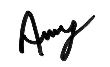 Firma di Amy